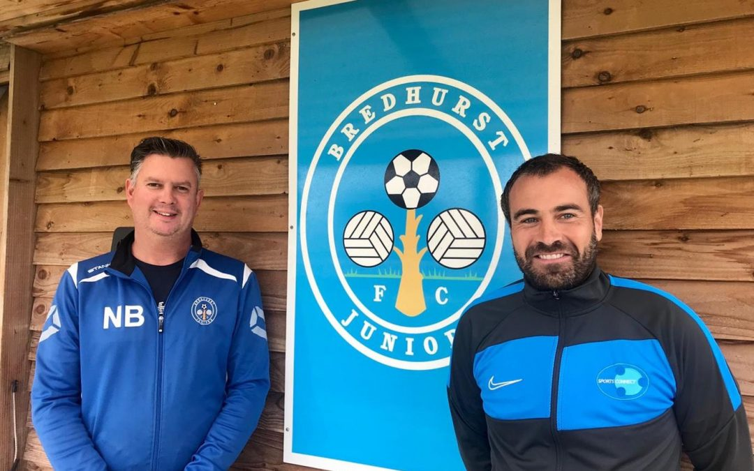 Bredhurst Juniors Announces New Partnership with Sports Connect
